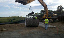 Clausen Springs Dam project